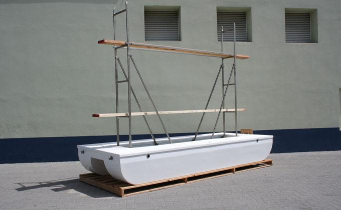 Paint raft